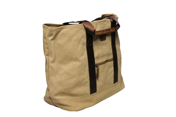 """Porto"" Canvas Carry All / Sand"