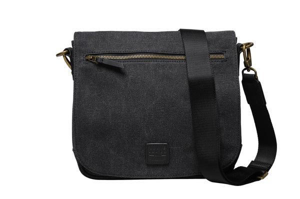 """Venice"" Canvas City Bag / Anthracite"