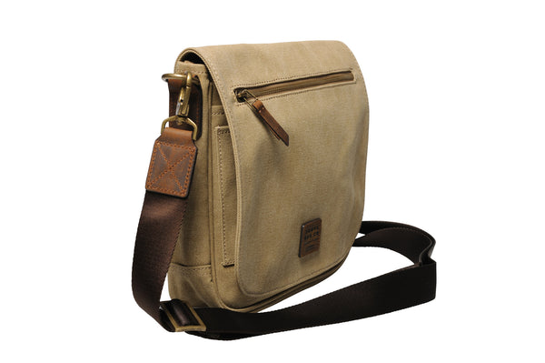 """Venice"" Canvas City Bag / Light Sand"