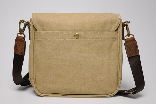 """Venice"" Canvas City Bag / Sand"