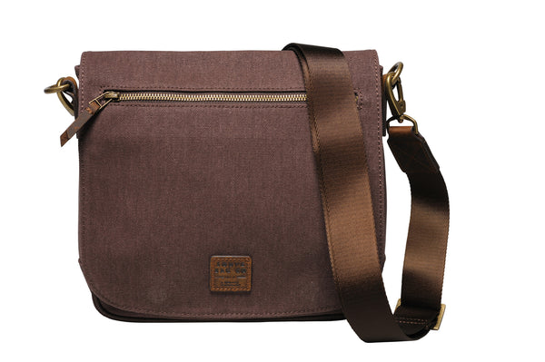 """Venice"" Canvas City Bag / Brown"
