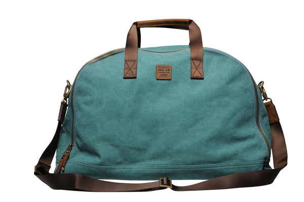 """Amsterdam"" Canvas Daytripper Bag / Petrol"