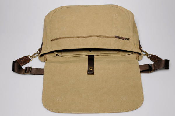 """Oslo - 2016 Collection"" Canvas Messenger / Light Sand"