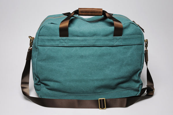 """Singapore"" Canvas Travel Bag Regular / Petrol"
