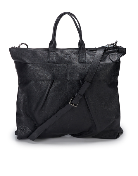 Leather Shoulder Bag / Black