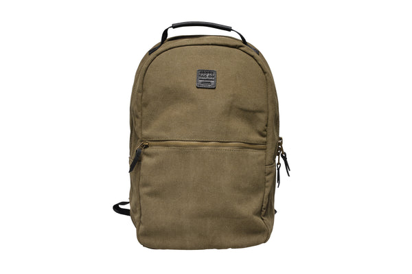 """Berlin"" Canvas Backpack / Olive"