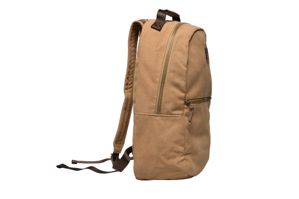 """Berlin"" Canvas Backpack / Sand"