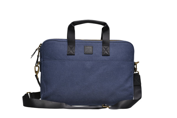 Canvas Briefcase / Blue