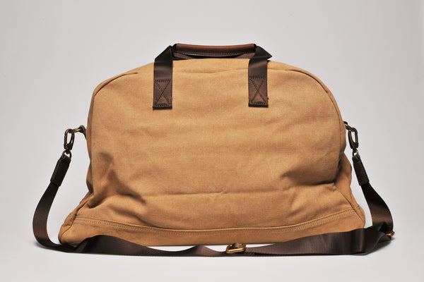 """Amsterdam"" Canvas Daytripper Bag / Sand"