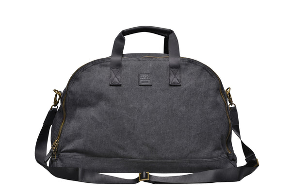 """Amsterdam"" Canvas Daytripper Bag / Anthracite"