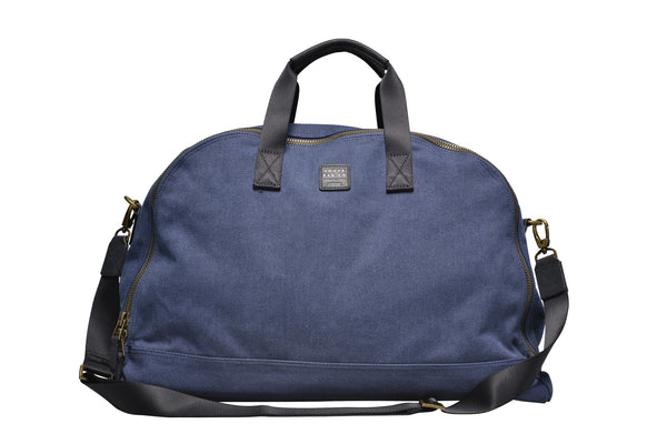 """Amsterdam"" Canvas Daytripper Bag / Blue"