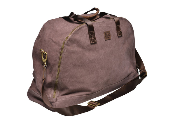 """Amsterdam"" Canvas Daytripper Bag / Brown"