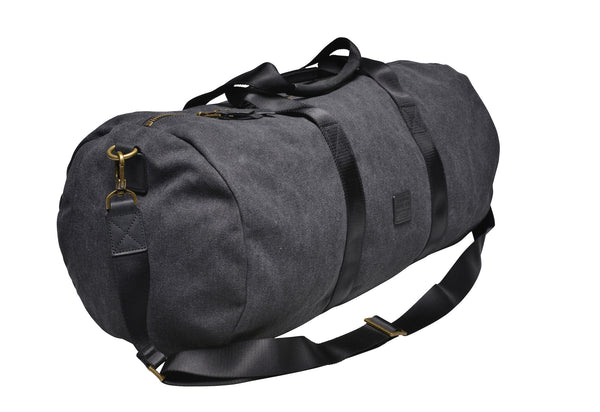 """Stockholm"" Canvas Duffle Bag / Anthracite"