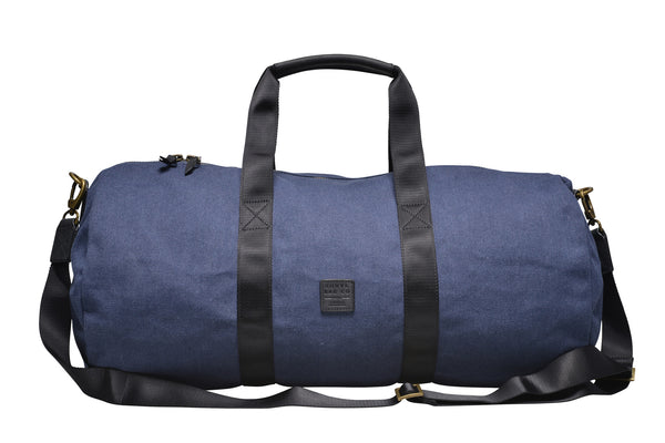 """Stockholm"" Canvas Duffle Bag / Blue"
