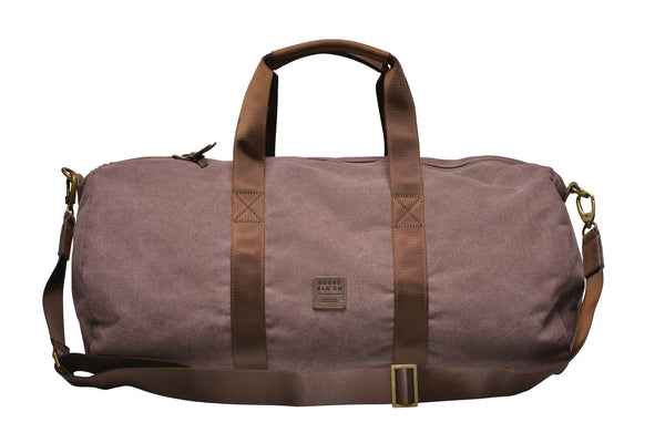 Canvas Duffle Bag / Brown