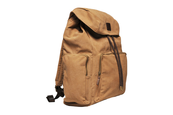 """Zermatt"" Canvas Hiking Backpack / Sand"