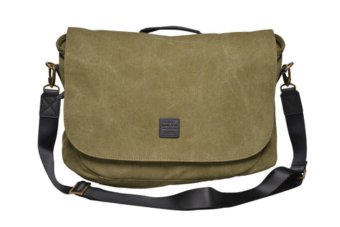 Canvas Messenger / Olive