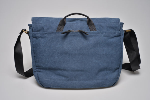 """Oslo"" Canvas Messenger / Blue"