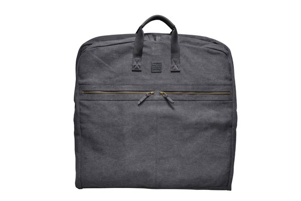 """London"" Canvas Suit Carrier / Anthracite"