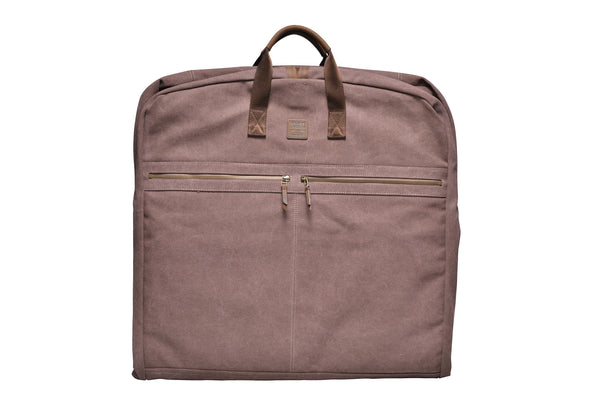 """London"" Canvas Suit Carrier / Brown"