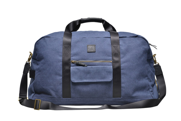 """Vancouver"" Canvas Travel Bag Large / Blue"