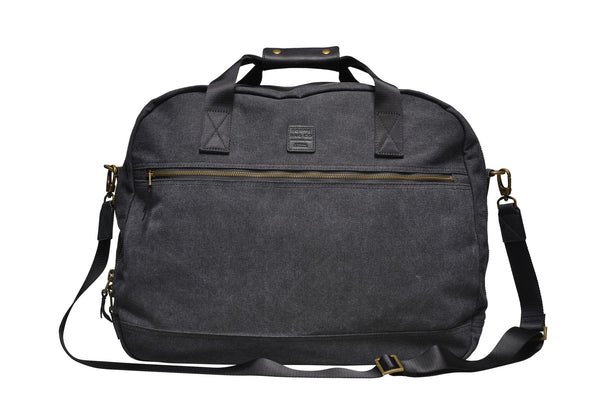Canvas Travel Bag Regular / Anthracite