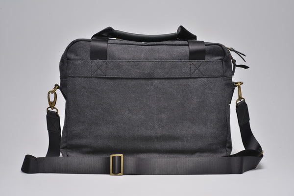 """Munich"" Canvas Work Bag / Anthracite"