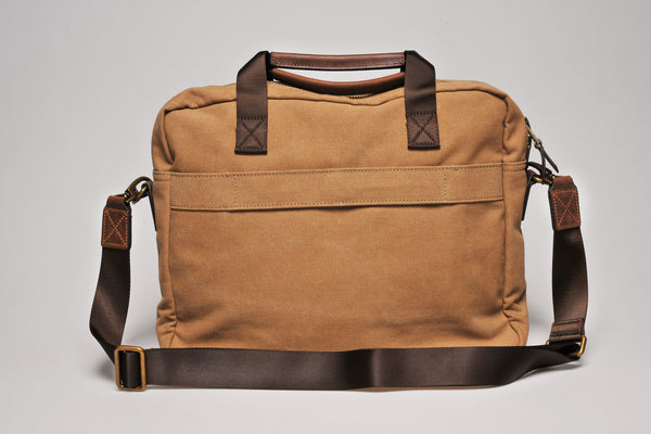 """Munich"" Canvas Work Bag / Sand"