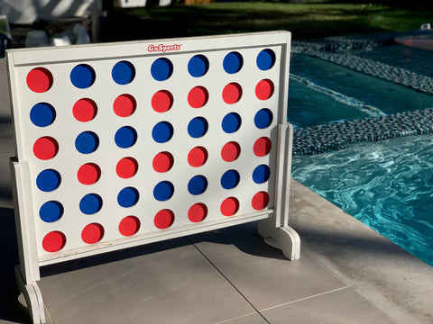 swimming pool toys giant connect four