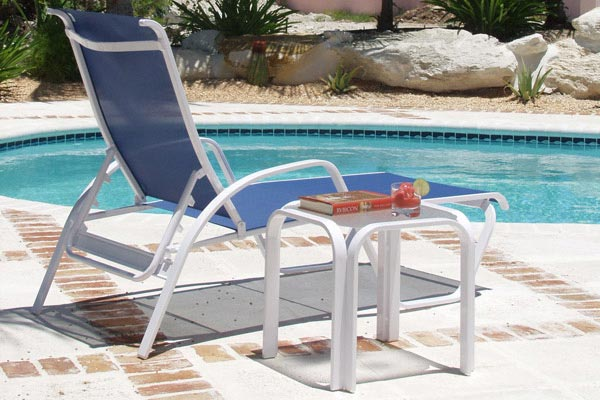 More common than in-pool bar stools sun chairs are your typical reclining full-length chairs. Also known as lounge chairs the reclined seats allow you to ... & Guide to Pool Chairs and Pool Seating - Liquidseat islam-shia.org
