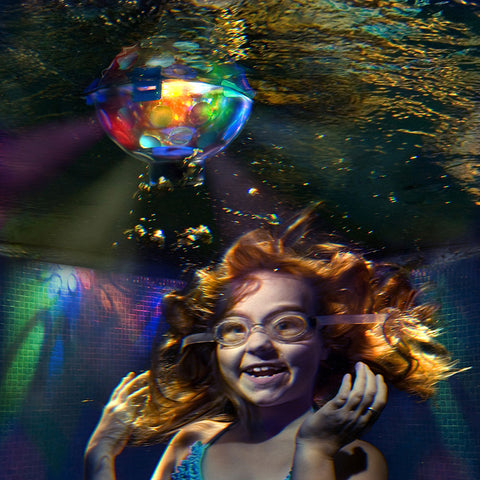 Underwater Disco Ball, Pool Accessories