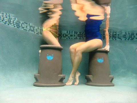 Easily movable Pool Seats