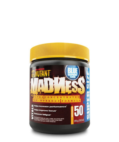 ***Mutant MADNESS (50 Servings), 375g