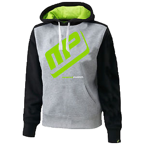 MusclePharm Pull Over Hoodie-Grey with Black