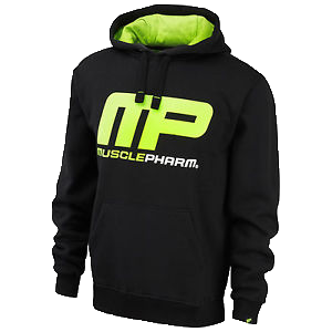 MusclePharm Pull Over Hoodie-Black