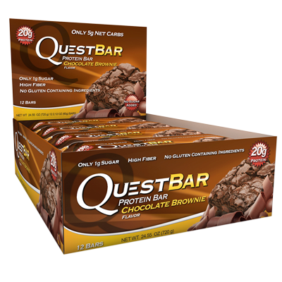 Quest, Chocolate Brownie - Box of 12