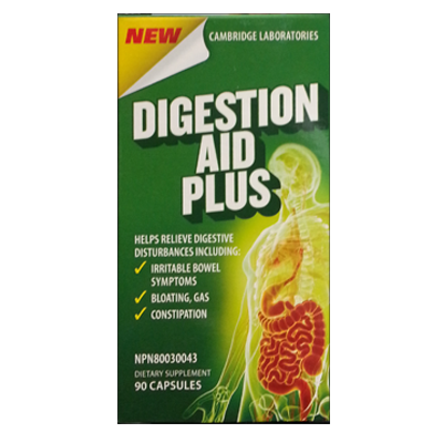 Cambridge Laboratories, Digestion Aid Plus (90 Caps)