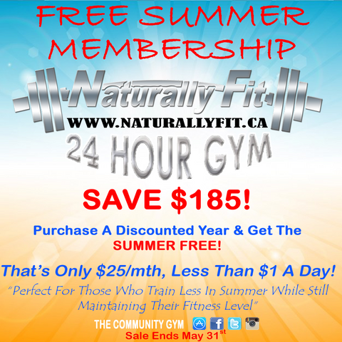 FREE Summer Membership *SALE*