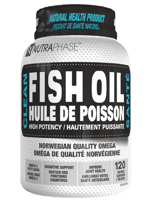 ****NutraPhase Clean Fish Oil 120 Caps