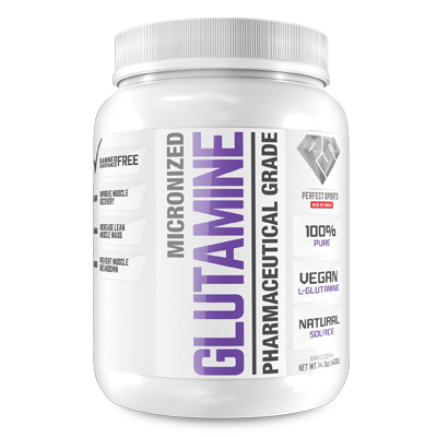 Perfect Sports Micronized L-Glutamine 400g