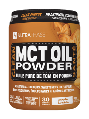 ****NutraPhase Clean MCT Oil Powder 30 Servings