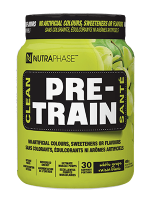 NutraPhase Clean Pre-Train, 30 Servings