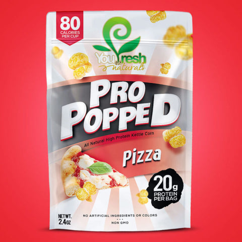 ****Pro Popped Popcorn 2.4oz, Pizza
