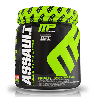 ****MusclePharm, ASSAULT (30 Servings) $24.99 reg $44.99 Save $20