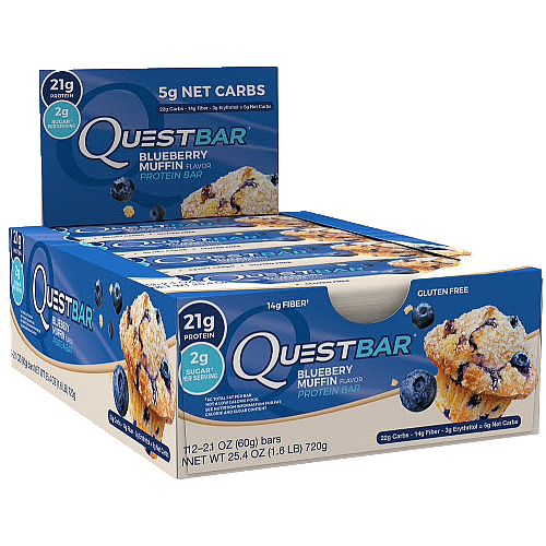Quest Natural, Blueberry Muffin - Box of 12