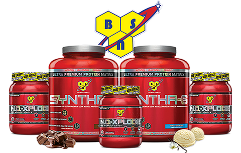 ***BSN, Syntha 6 (5lb) & No Xplode-Both For $100!