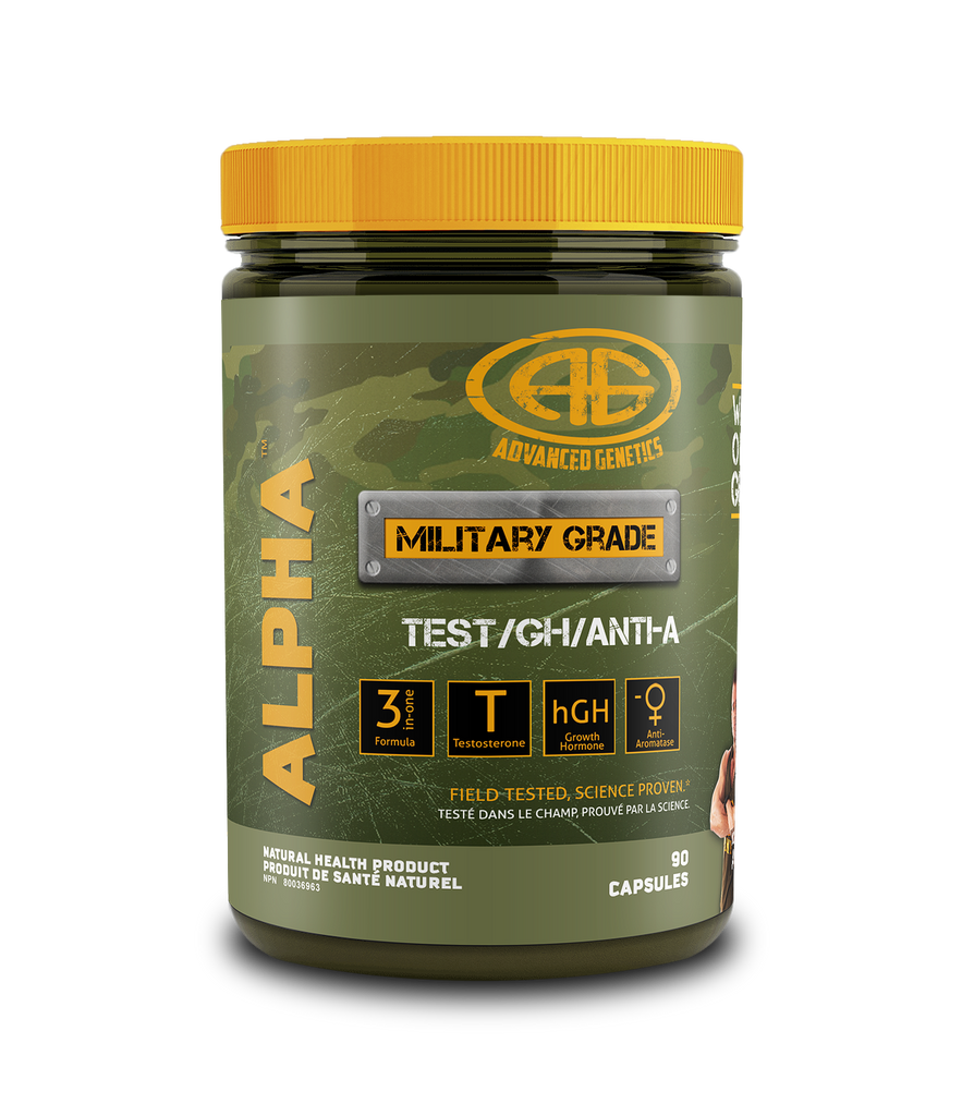 Advanced Genetics, Alpha (90 capsules)