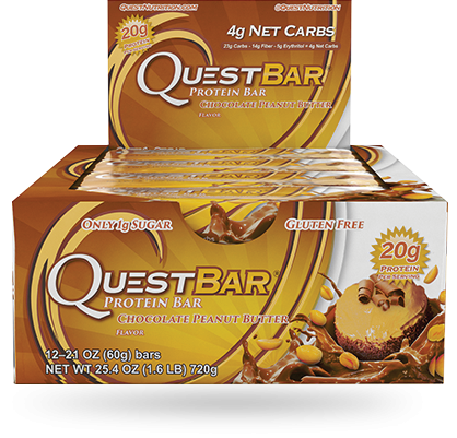 Quest, Chocolate Peanut Butter - Box of 12