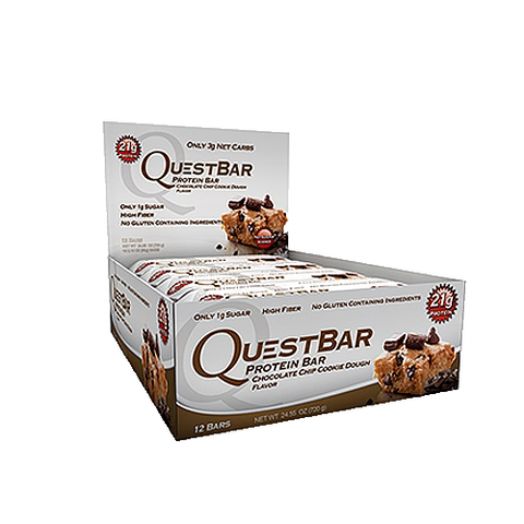Quest, Chocolate Chip Cookie Dough - Box of 12
