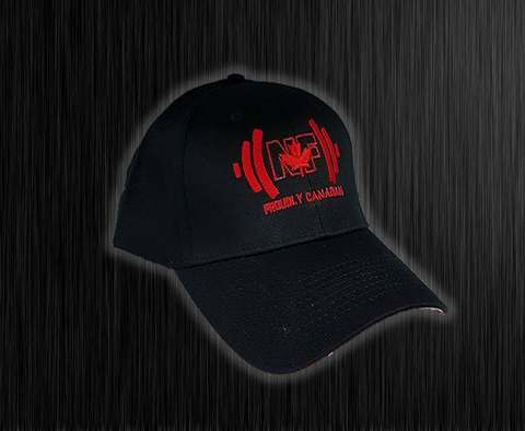 ***New*** Naturally Fit Proudly Canadian-Red On Black